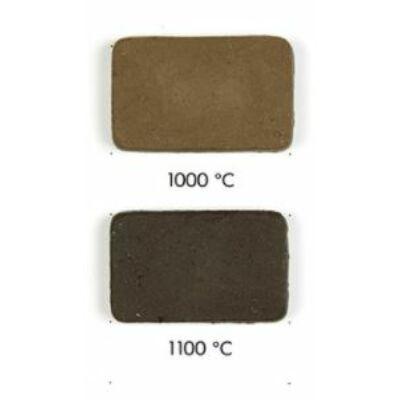 579 samottos barna-fekete raku massza, 10kg kiszerelésben.